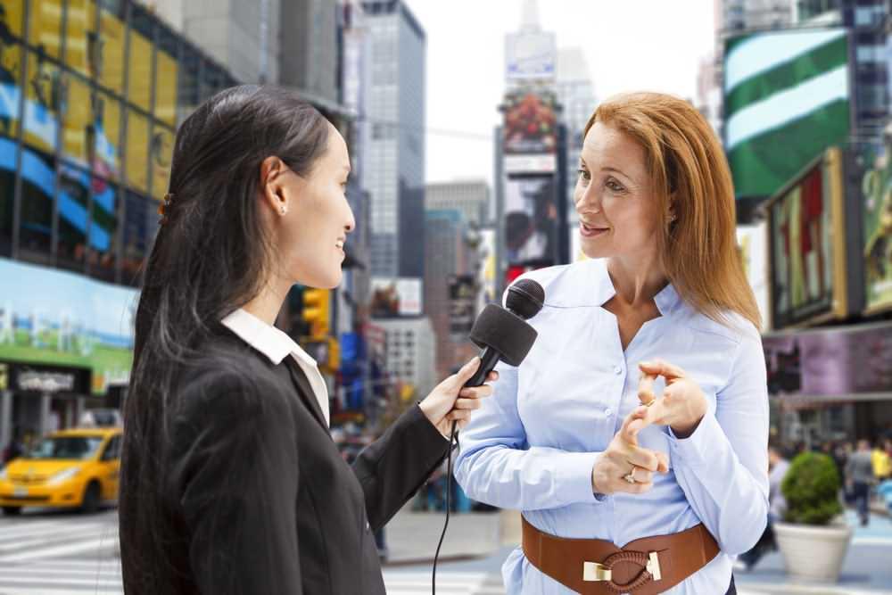گزارشگر,خبرنگار,گفتگو