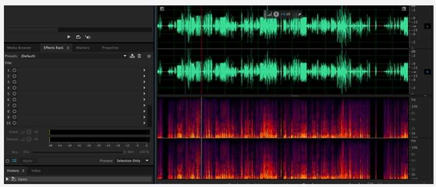 حذف نویز و هوای اضافه در صدای ضبط شده