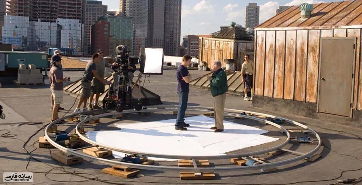 نمای گردونه - نمای تراولینگ - آموزش فیلمبرداری